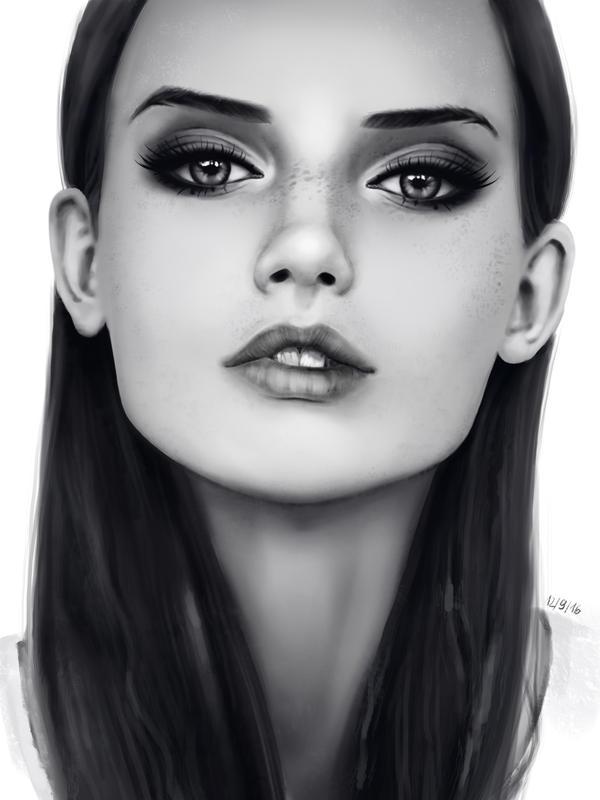 Study - Potrait by VivianMeow