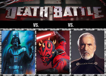 Death Battle Concept: Sith Lord Battle Royale by Wildgun-Edge