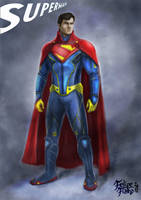 Superman by Fialhorn