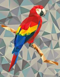 Macaw by Enemymilk