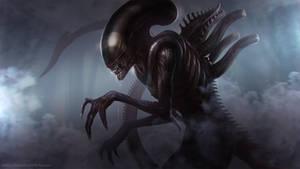 Alien by litanilitani