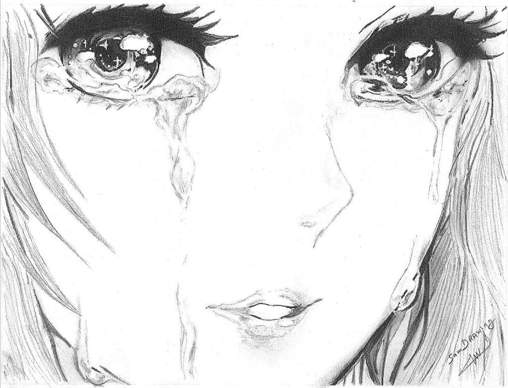 crying by SamAnimeMangaFR on DeviantArt