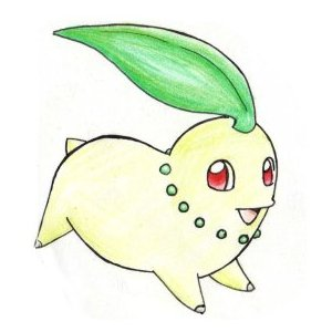 Chikorita by ShrubSparrow