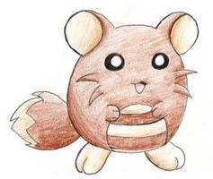 Fakemon: Baby Sentret by ShrubSparrow