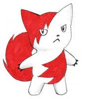 Fakemon: Baby Zangoose by ShrubSparrow