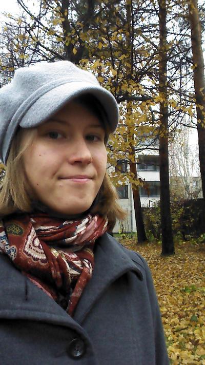 Autumn selfie by Tyltalis