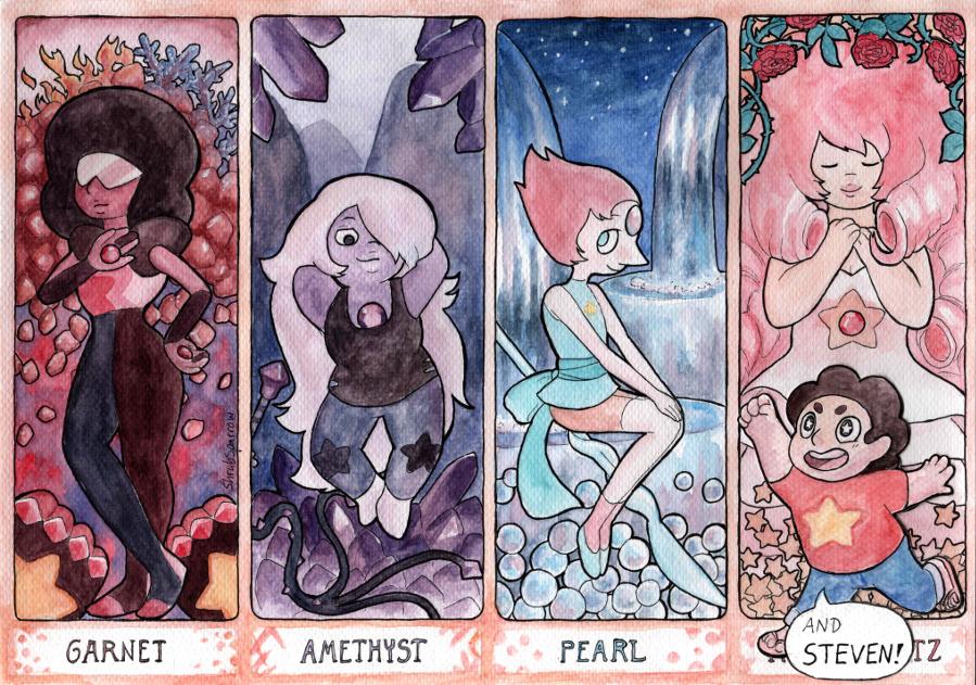 Gemstones by ShrubSparrow