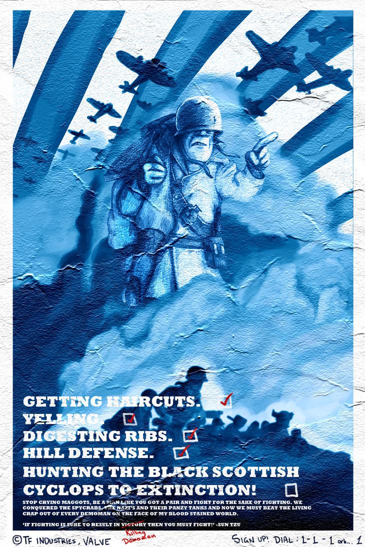 Soldier Propaganda by Tre-elo