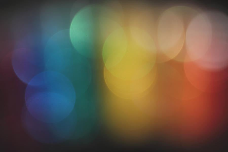 Rainbow bokeh by brokenbokeh