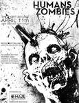 Humans Vs. Zombies Poster 2