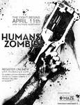 Humans Vs. Zombies Poster 1