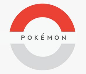 Pokemon Logo Minimalist