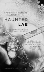 Haunted Lab Poster