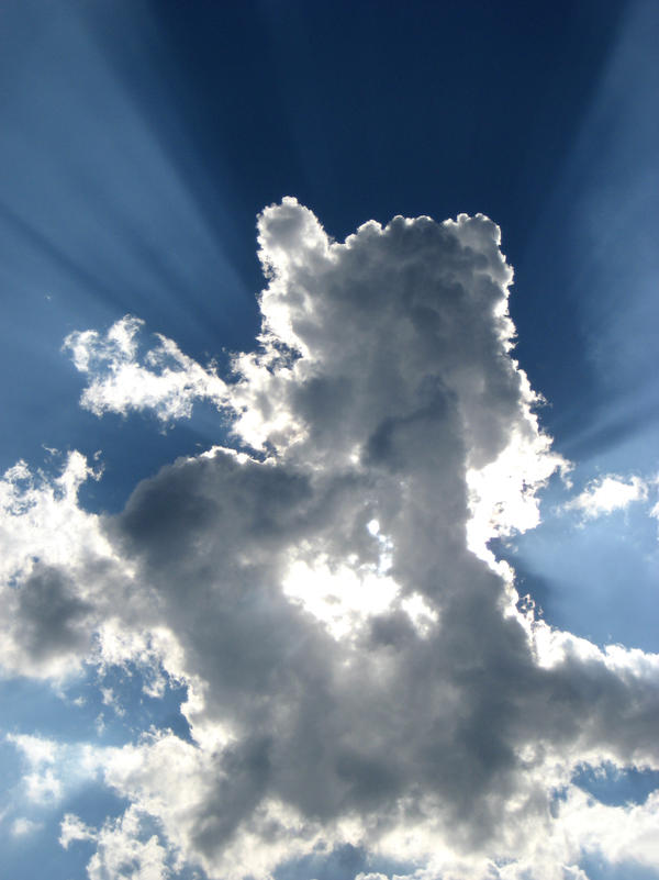 Cloud and Sunbeam by Ceejay8887