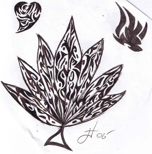 how to draw a weed leaf in facebook status