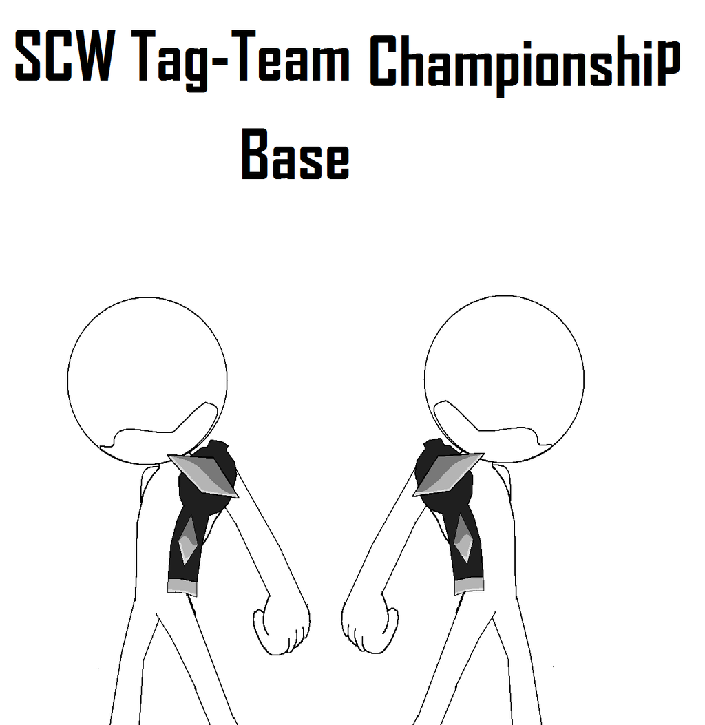 Sonic Tag Team Championship Base by JAVA-MOCHA