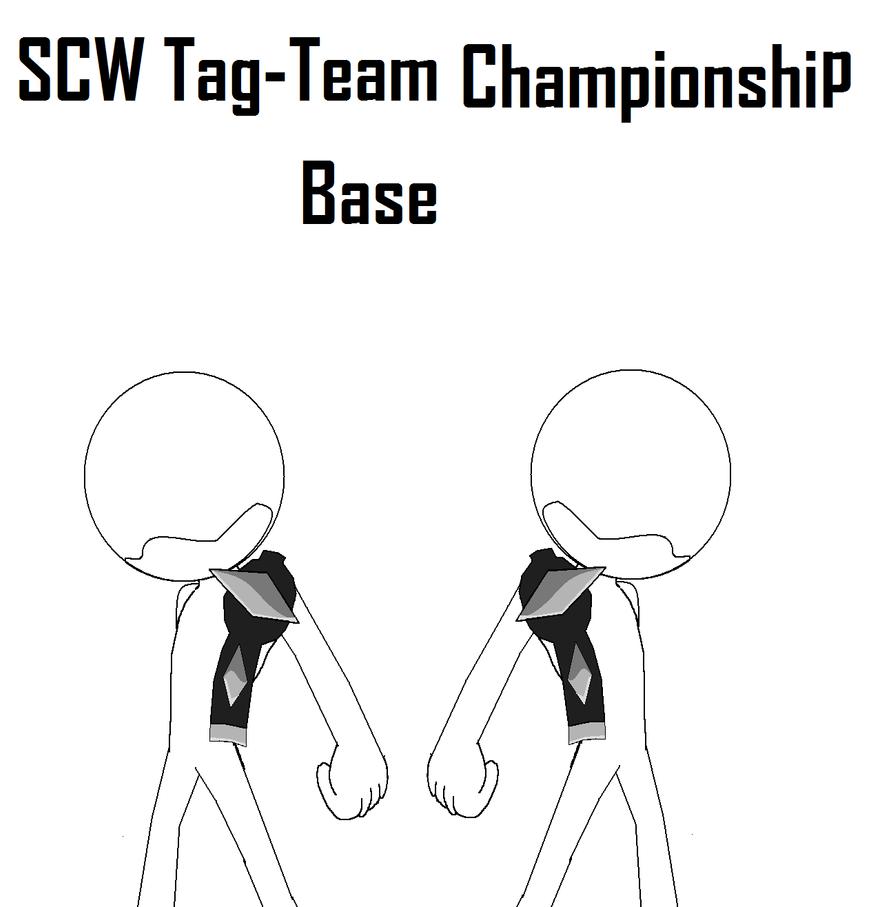 Sonic Tag Team Championship Base by Java-Mocha