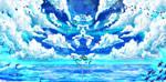 Play me a serenade of clouds by Kei-Niji