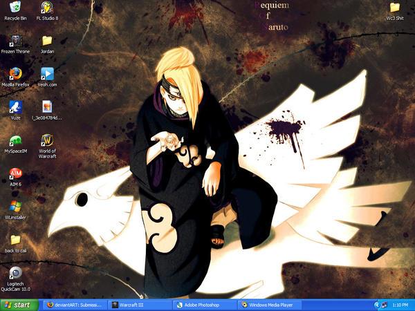 my desktop. woo.