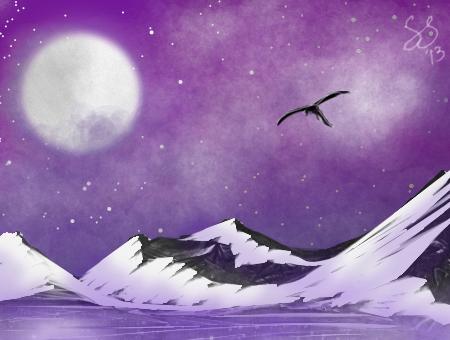 Night Flight by Element--Dragon