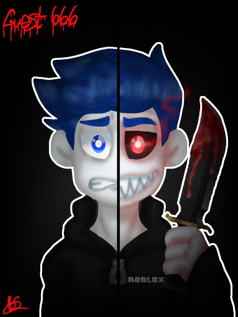 Guest 666 Roblox By Miablue14 On Deviantart