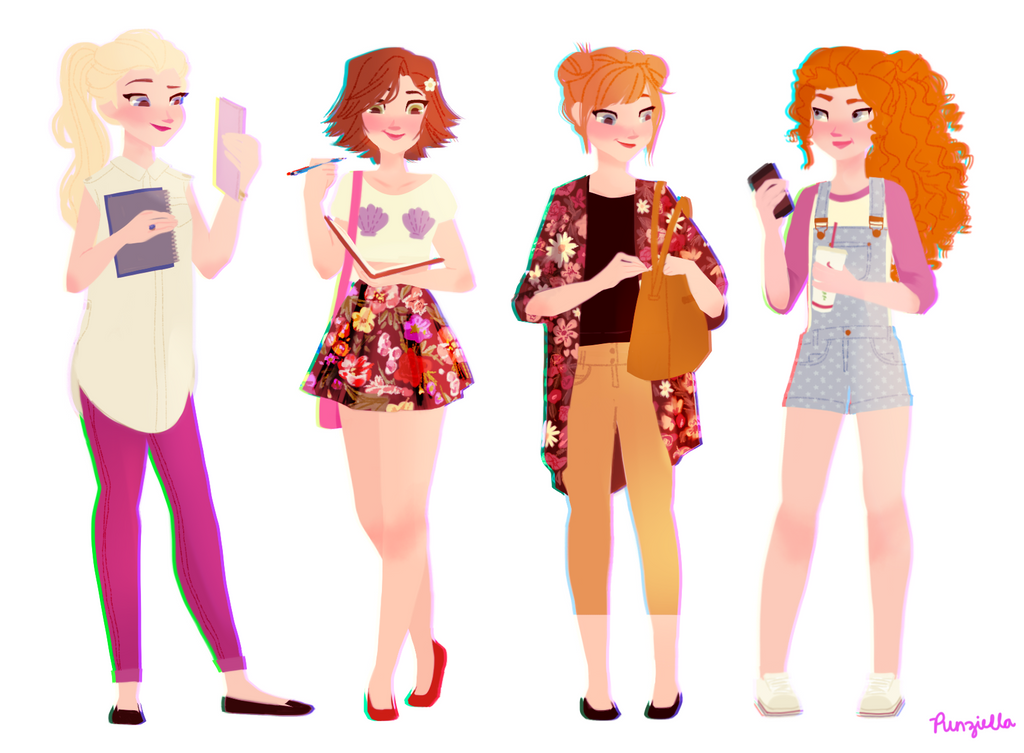 Casual four seasons by muttonfudge