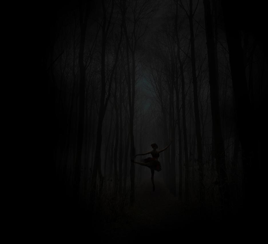 Dark forest by Mandakini