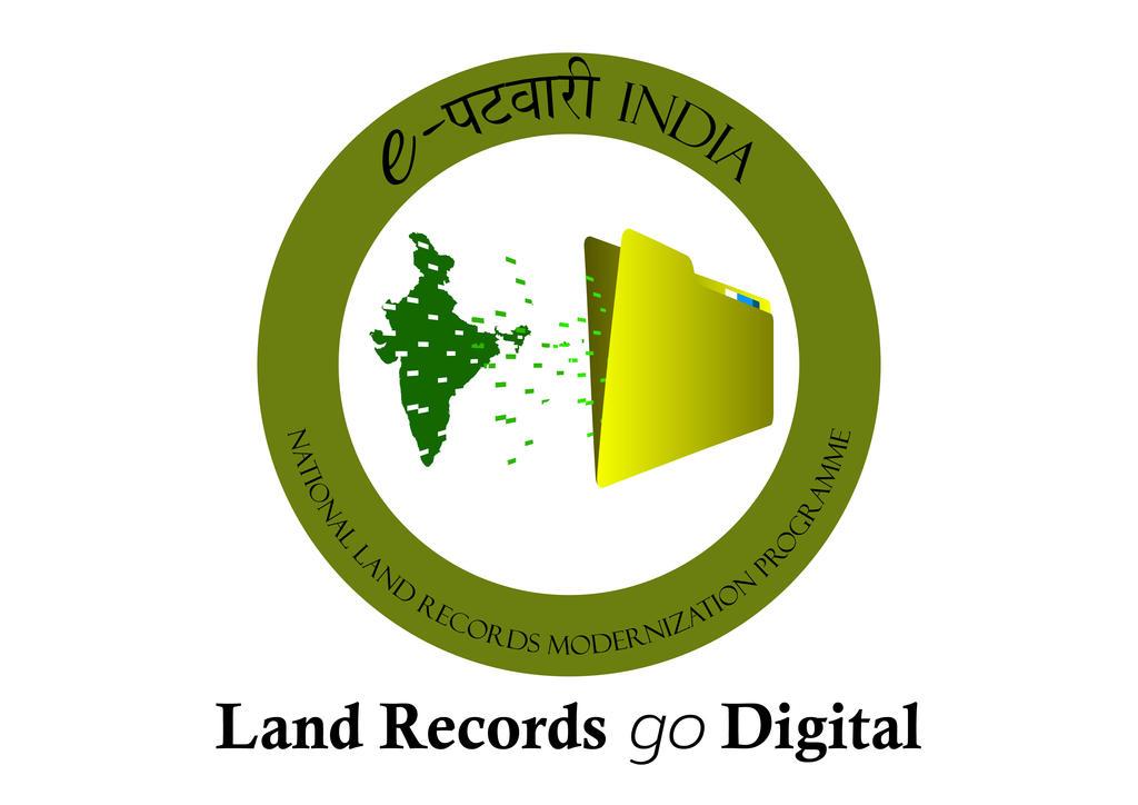 Land record digitization logo3-01-01 by Mandakini