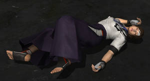 Asuka Knocked Out by virtualsoles