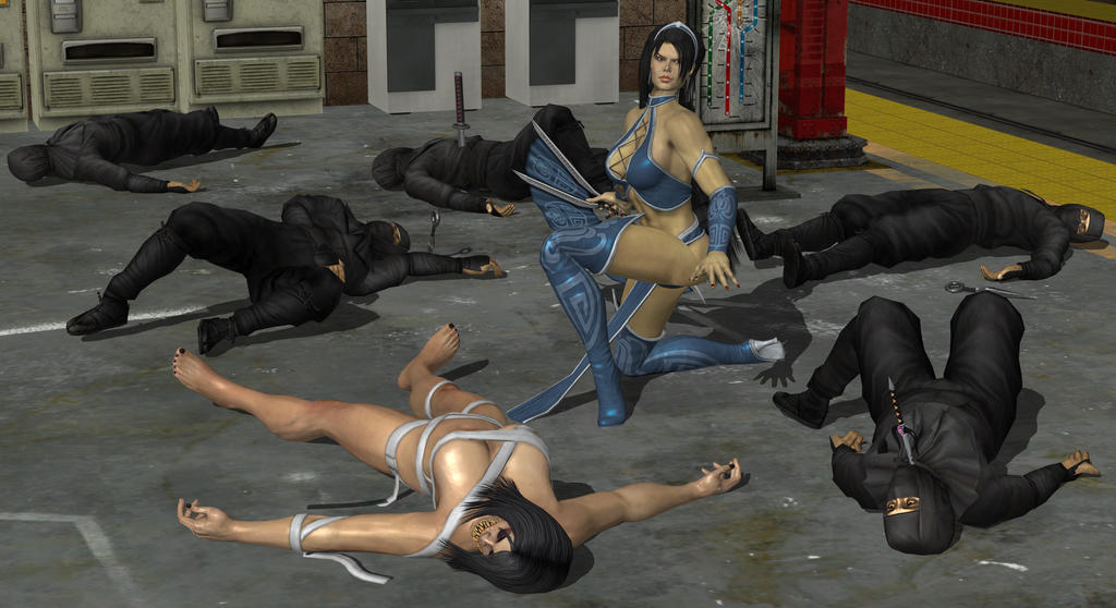 Kitana Wins 2 Of 3 Revised By Virtualsoles On Deviantart