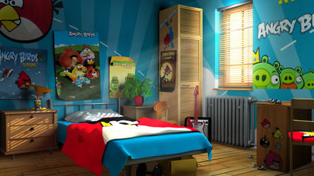 Angry Birds ROOM by danield13
