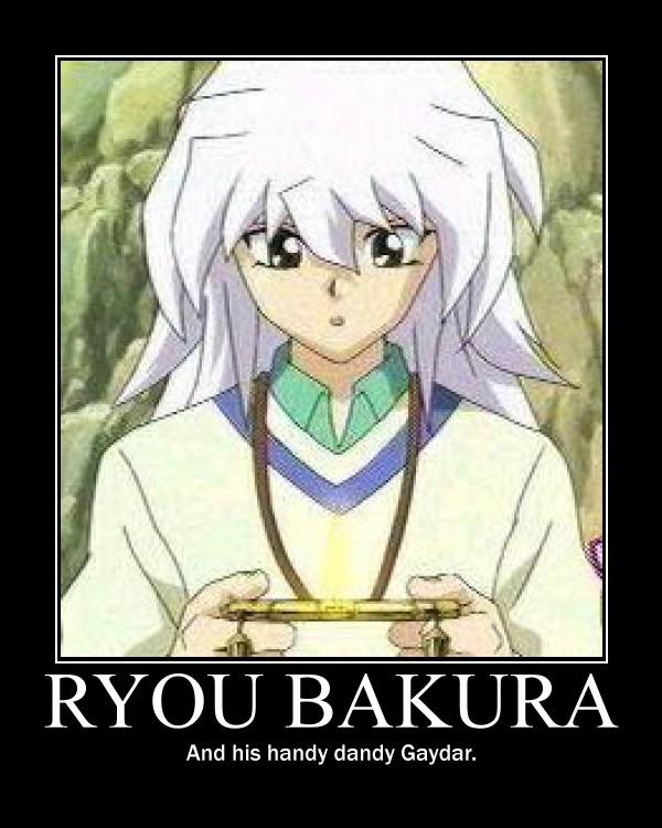 Ryou Bakura :Gaydar: by EmoxCursexGrl92