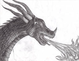 Third Dragon closeup by Dreamscape195