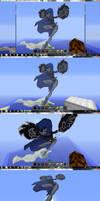Raven in Minecraft
