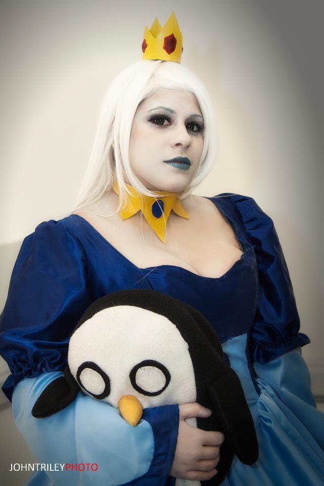 Ice queen adventure time cosplay