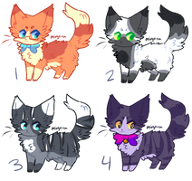 more cat adopts pls buy them ( 1 left ) by captyns