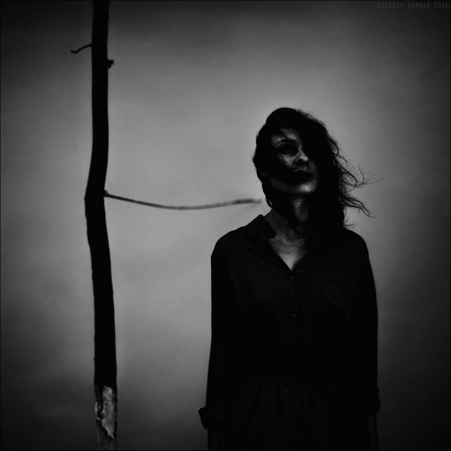 girl in the void by shamanski
