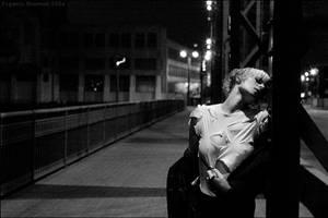 girl on the bridge V.2 by shamanski