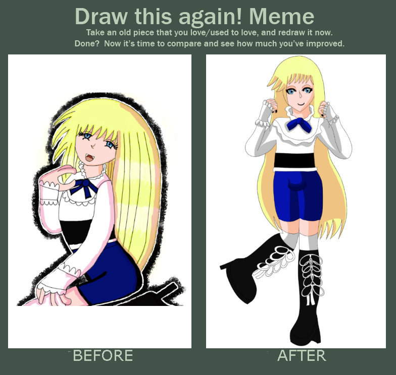 Fuyuki Before and After meme by GothicLolitaAngel