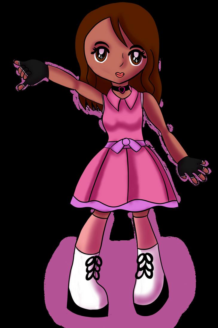 Chibi Shoujo Girl by GothicLolitaAngel