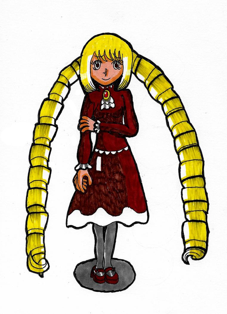 Shy Priscilla by GothicLolitaAngel