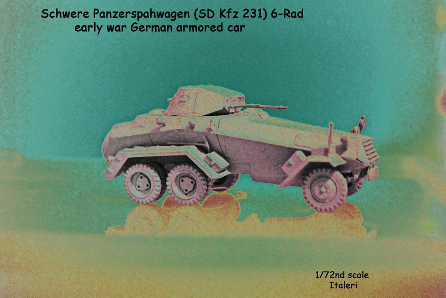 SD Kfz 231 by eyepilot13
