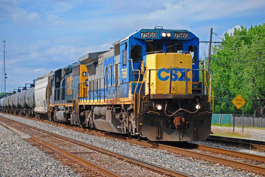 CSX Ethanol Train IHB_0124 6-3-12 by eyepilot13