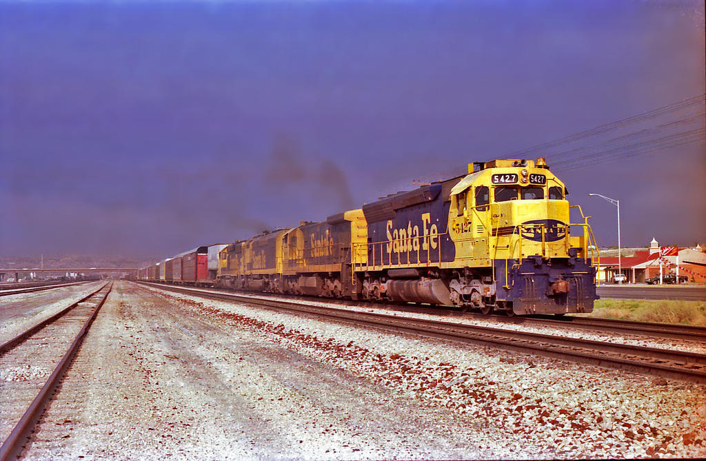 ATSF Gallup, NM 1989 by eyepilot13