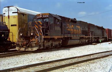 SD40T-2 5409 S-a 7-11-98