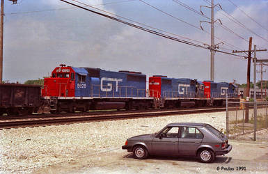 GTW and Omni 31st St IHB 6-9-91