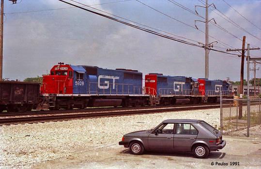 GTW and Omni 31st St IHB 6-9-91