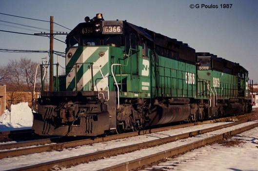 BN SD40-2s 12-87