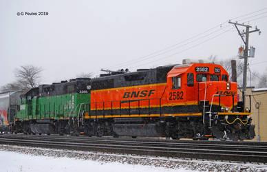 BNSF 2582 0102 1-25-19 by eyepilot13