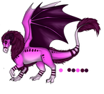 Amethyst's Dragoniss, Dragon Form by FantasyTwilight